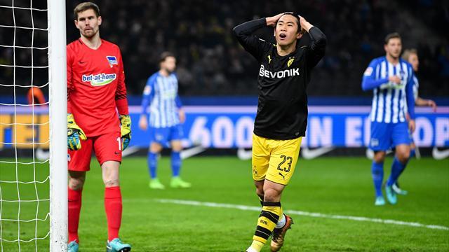 Sans Aubameyang, Dortmund ramène un nul de Berlin