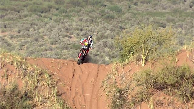 Stage 13 highlights: Dakar motorbikes