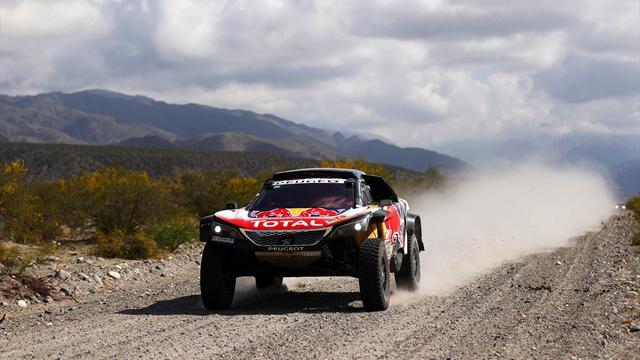 Sainz on the brink of Dakar triumph for Peugeot