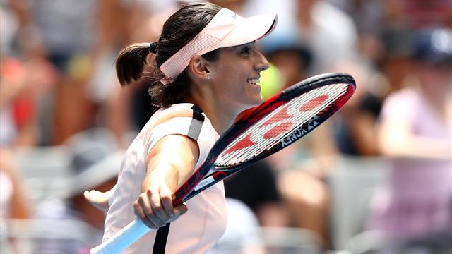 Garcia stoppée net en huitièmes — Open d'Australie