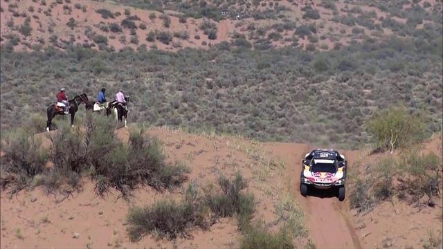 Dakar 2018: Sainz acaricia su segundo Dakar: 46 minutos sobre Al-Attiyah a falta de una etapa