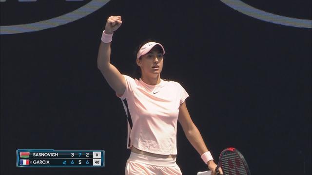Open Australia 2018: Sasnovich vs Garcia, vídeo resumen del partido