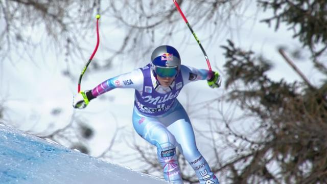 Lindsey Vonn vince la seconda discesa di Cortina e sale a quota 79
