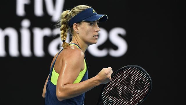 Kerber n'a fait qu'une bouchée de Sharapova