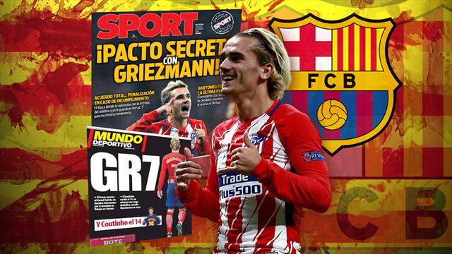 Euro Papers: Griezmann set to join Barca as club complete transfer masterplan
