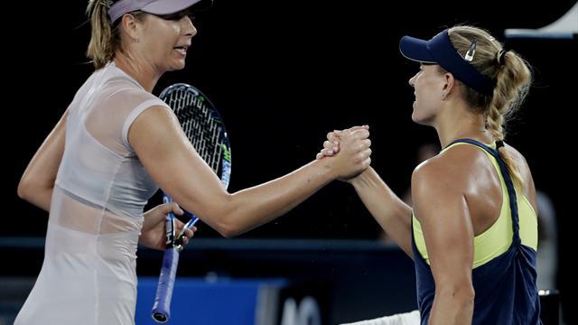 Open de Australia 2018, Angelique Kerber-Maria Sharapova: Adiós sin opciones (6-1 y 6-3)