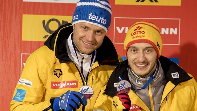 Eggert/Benecken gewinnen EM-Titel und Gesamtweltcup