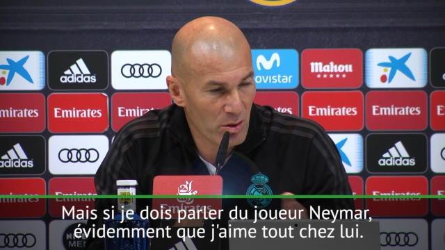 "Zidane : ""J'aime tout chez Neymar"""