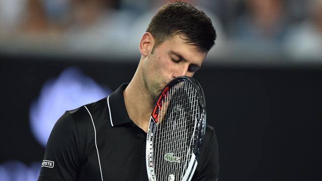 Novak Djokovic sorti en 8e de finale — Open d'Australie