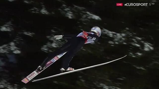 Extraklasse trotz Wind: Tande krönt sich zum Skiflug-Champion