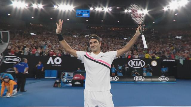 Australian Open: Roger Federer-Richard Gasquet, gli highlights