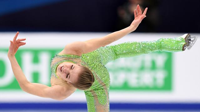 Carolina Kostner bronzo da leggenda! Rivivi il programma che le è valso l'11esima medaglia europea