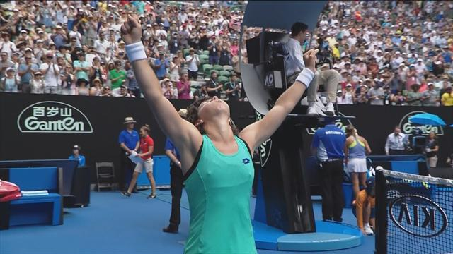 Open Australia 2018, Kontaveit-Carla: Remontada para seguir el idilio con Melbourne (6-4, 4-3 y 6-8)