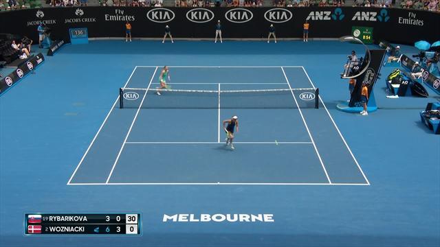 Open d'Australie: Wozniacki contre Suarez en quarts de finale