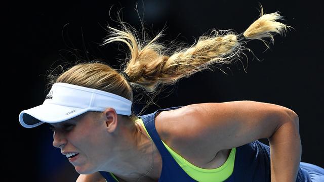 Australian Open: Wozniacki è la nuova Regina, Halep ko