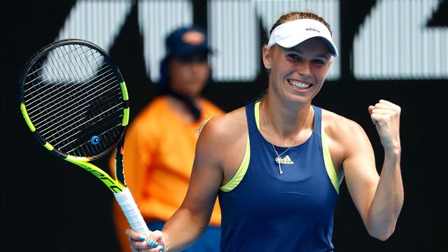 Sharapova says wants to play against former Grand Slam champions