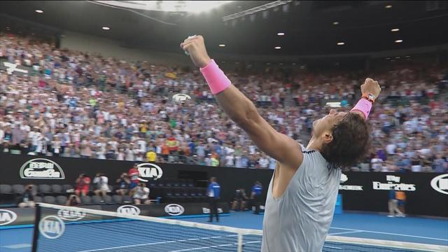 Avustralya Açık2018: Rafael Nadal - Diego Schwartzman (Özet)
