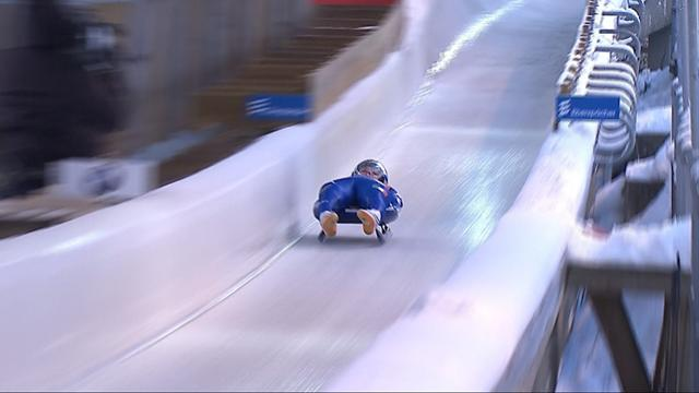 Copa del Mundo de Luge en Lillehammer: Dominik Fishnaller