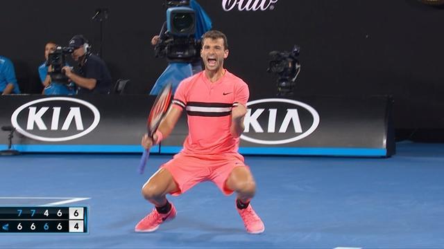 Australian Open: Dimitrov-Kyrgios, gli highlights