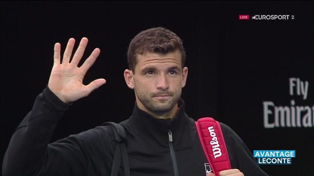 "Leconte : ""Dimitrov a passé un cap"""