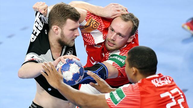 Knappe Pleite gegen Dänemark: Deutschen Handballern droht das Aus