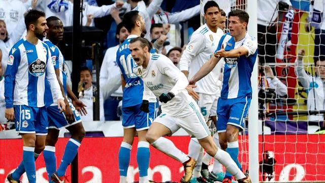 7-1. El Real Madrid recupera la pegada
