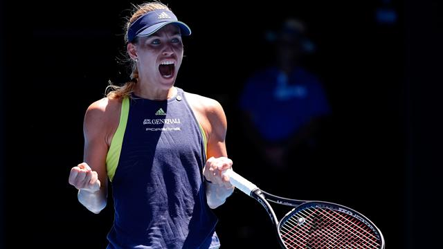 Kerber digs deep to outlast Hsieh in classic