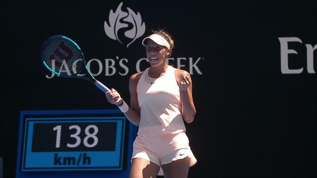 Avustralya Açık 2018: Madison Keys - Caroline Garcia (Özet)