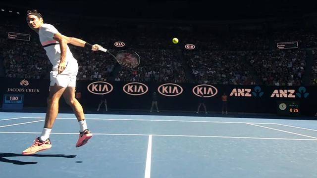 Die Reaktion des Turniers?! Federer mit unfassbarer Rettungsaktion
