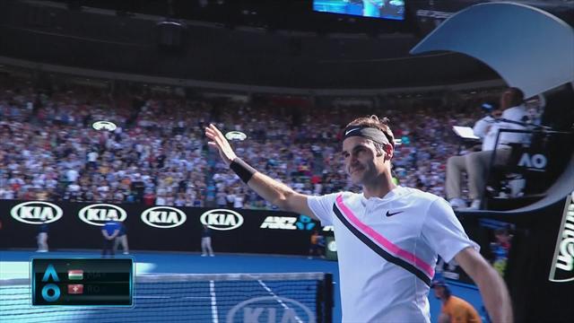 Federer completes win against Fucsovics