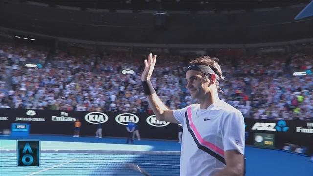 Highlights: Roger Federer thrills Melbourne crowd en-route to quarterfinals