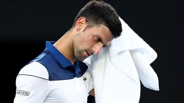 Touché à la main droite, Djokovic se serait (secrètement) fait opérer