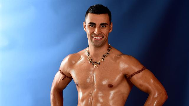 Eurosport Advent Calendar: When Pita the topless Tongan got oiled-up in our studio
