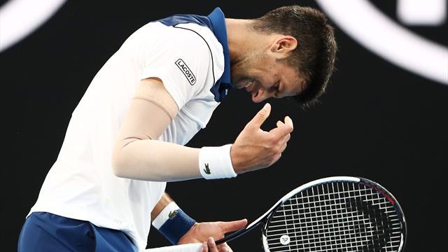 Djokovic sorti par un sensationnel Chung