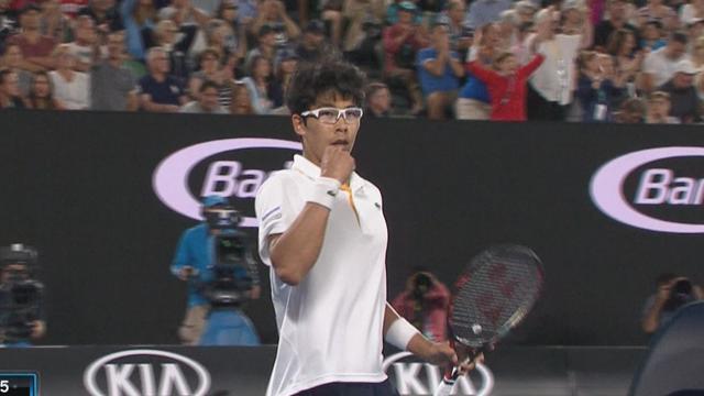 Australian Open: Djokovic-Chung, gli highlights