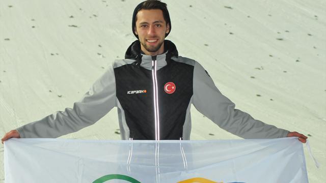 Türkiye'de bir ilk: Fatih Arda İpçioğlu kayakla atlamada olimpiyat vizesi aldı