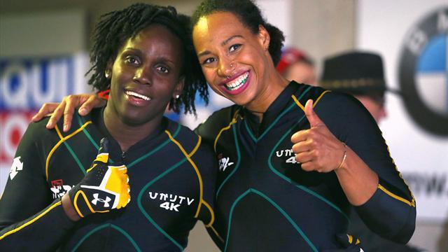Jamaicas damlag i bob gör OS-debut