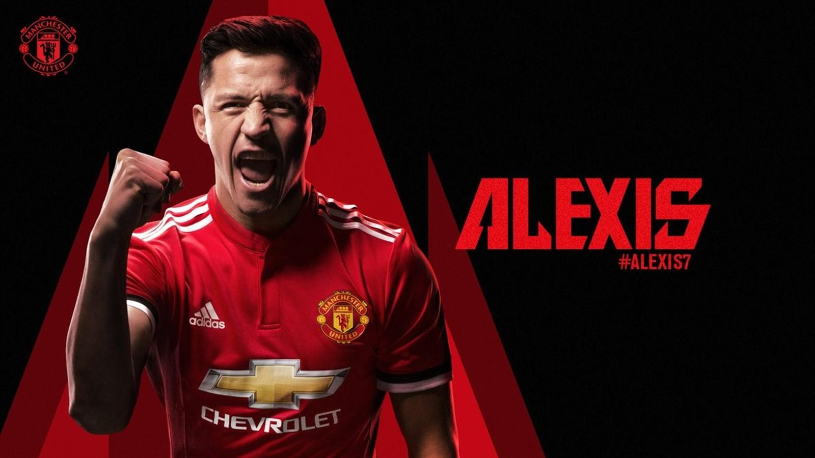 0fcbcfa7f Alexis Sanchez signs for Manchester United