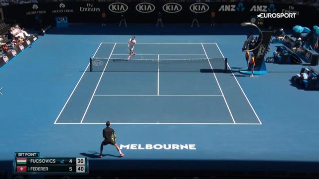 Федерера попросили дать мастер-класс Фучовичу. Швейцарец не отказал