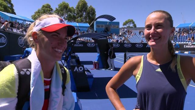 Mladenovic retrouve le sourire en double : «C'est la magie du tennis !»