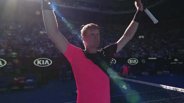 Fantastic! Watch Kyle Edmund's winning moment