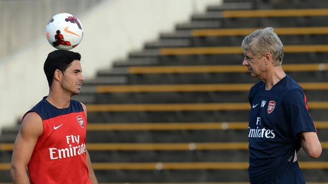 Wenger: Arteta has quality to become Arsenal manager