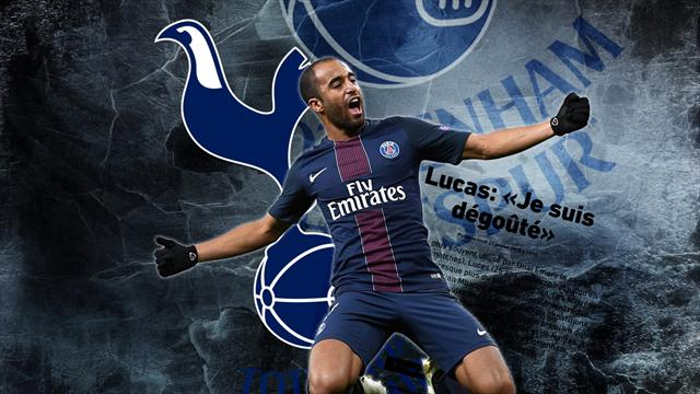 Euro Papers: Lucas Moura set to join Spurs after admitting his 'disgust' with PSG