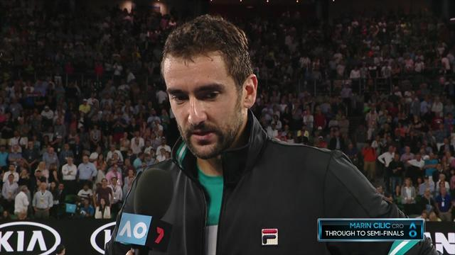 Cilic: It was very weird to have my serve broken so much