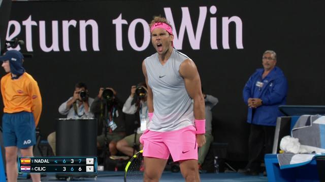 Nadal roars after tiebreak win sets up fifth-set decider