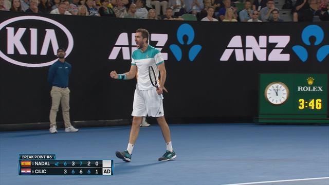 Avustralya Açık 2018: Rafael Nadal - Marin Cilic (Özet)