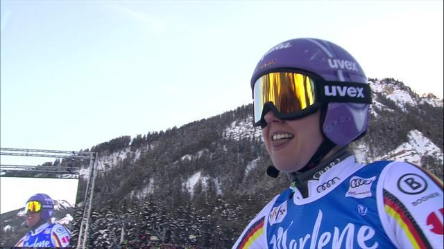 Rebensburg's winning Giant Slalom run at Kronplatz