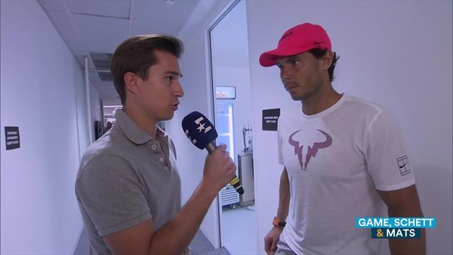 """""""Es ist hart für mich"""": Das sagt Nadal nach seiner Aufgabe gegen Cilic"""
