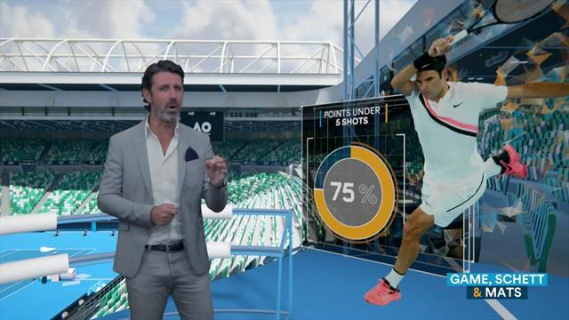 The Coach: Los datos que confirman la versión más agresiva de Roger Federer