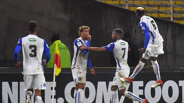 Sept buts, des poteaux à gogo et Nantes au tapis : Auxerre a vécu la magie de la Coupe